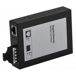 FIBERCONV. RJ45-SC 10/100/1000 BASE T-SX, SM 10 KM, MC210CS