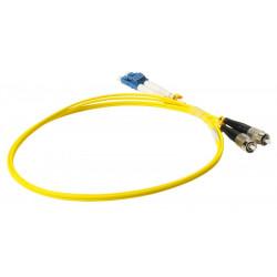 FIBER PATCH DUPLEX FC-LC SM 1M OS2 9/125 LSZH