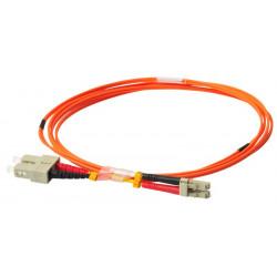 FIBER PATCH DUPLEX LC-SC MM 3M OM1 62,5/125 LSZH