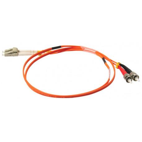 FIBER PATCH DUPLEX LC-ST MM 2M OM1 62,5/125 LSZH