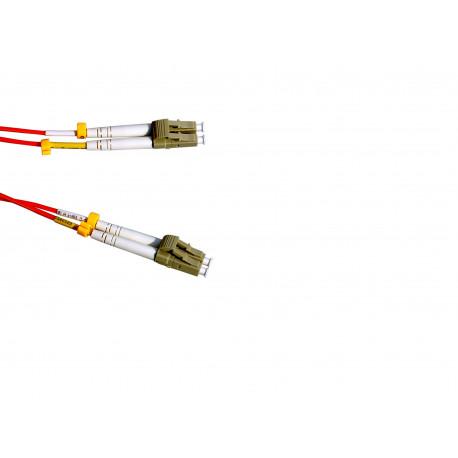 FIBER PATCH DUPLEX LC-LC MM 3M OM1 62,5/125 LSZH