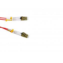 FIBER PATCH DUPLEX LC-LC MM 5M OM1 62,5/125 LSZH