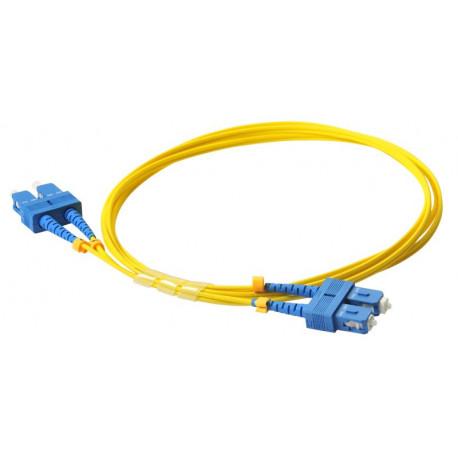 FIBER PATCH DUPLEX SC-SC SM 10M OS2 9/125 LSZH