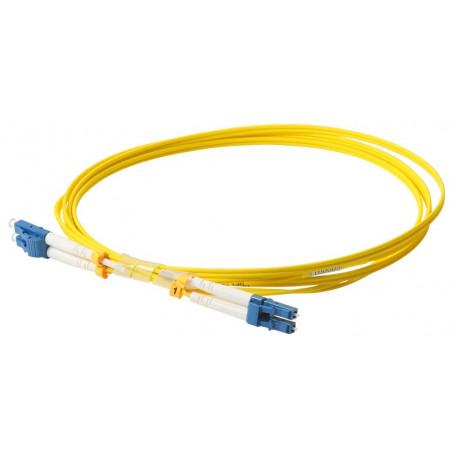 FIBER PATCH DUPLEX LC-LC SM 1M OS2 9/125 LSZH