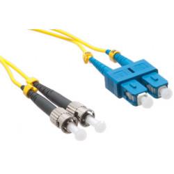FIBER PATCH DUPLEX SC-ST SM 1M OS2 9/125 LSZH