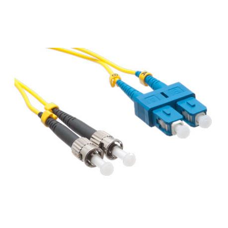 FIBER PATCH DUPLEX SC-ST SM 2M OS2 9/125 LSZH