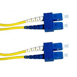 FIBER PATCH DUPLEX SC-SC SM 1M OS2 9/125 LSZH