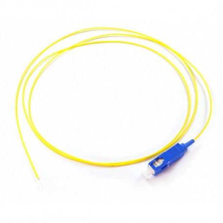 PIGTAIL SC/UPC SM GRADE C 2M OS2 9/125 PVC EASY STRIP