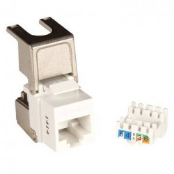 UTP FLIP JACK C6A KEYSTONE BULK BOX A 150 STK GIGA-LAN PRO