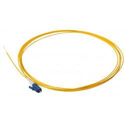 PIGTAIL LC/UPC SM GRADE B 2M OS2 9/125 PVC EASY STRIP