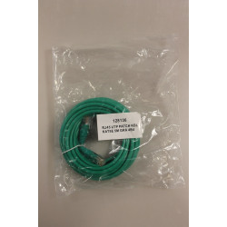 RJ45 UTP PATCH KBL KAT5E 5,0 M GRØN/GREEN         4C1