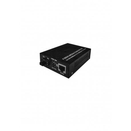 SFP FIBER CONVERTER. 10/100/1000Mbps. MM 550M/2KM. SM 20KM+. RJ45 port POE+