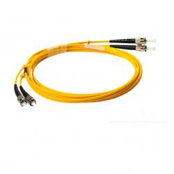 FIBER PATCH DUPLEX ST-ST SM 3M OS2 9/125 LSZH
