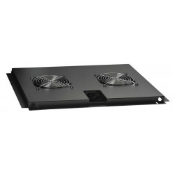 FAN-TRAY FOR B800XD800MM. GULVRACK SORT 2 STK. VENTILATOR