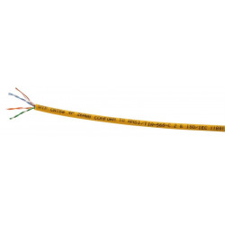 U-UTP PATCHKBL  4X2XAWG24 KAT5E PVC GUL 500M TRL GUL
