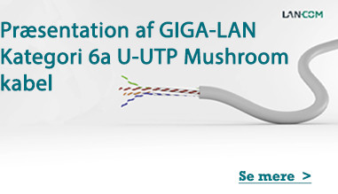 Præsentation af GIGA-LAN Kategori 6a U-UTP Mushroom kabel