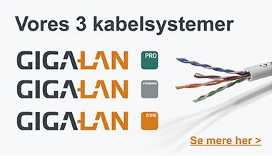 Vores 3 kabelsystemer